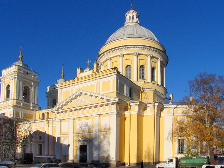 Александро–Невской Лавре